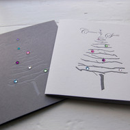 Letterpress Crystal Christmas Cards