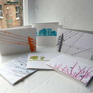 Letterpress Greeting Cards - Pack One