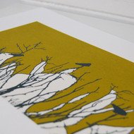 Lime Watching Screen Print