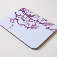 Mulberry Birdsong Coaster