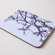 Blue Birdsong Coaster