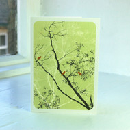 Oriental Peppermint Greeting Card