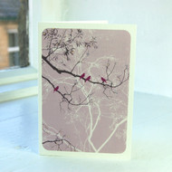 Oriental Lilac Greeting Card