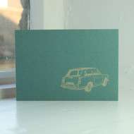 Austin A40 Greeting Card