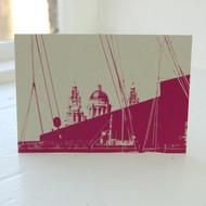 Liver Building Postcard