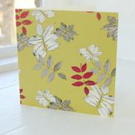Foliage Greeting Card