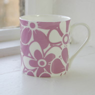 Mulberry Floral Bone China Mug - Discontinued
