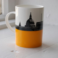 Waterloo Bridge & St. Pauls Bone China Mug
