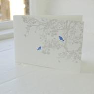 Birdsong Letterpress Greeting Card LP-LS-16-GC