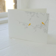 Birdsong Letterpress Greeting Card LP-LS-14-GC