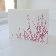 Birdsong Letterpress Greeting Card