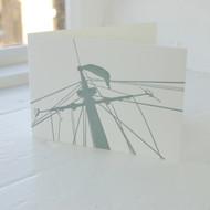 Land & Sea Letterpress Greeting Card LP-LS-08-GC