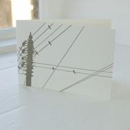 Land & Sea Letterpress Greeting Card LP-LS-06-GC