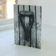 Spade Handle Greeting Card