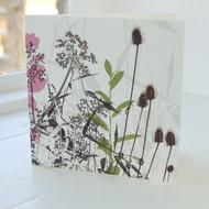 Teasle Greeting Card