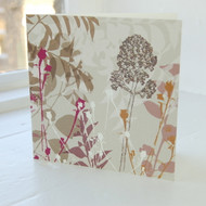 Buddlia Greeting Card