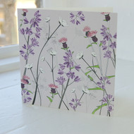 Bluebells & Buttercup Greeting Card