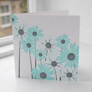 Daisy Letterpress Greeting Card