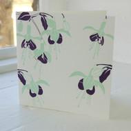 Fuchsia Letterpress Greeting Card