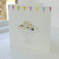 Cake Stall Greeting Card