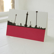 Trafalgar Square Greeting Card