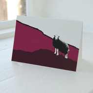 Hardknott Pass Greeting Card
