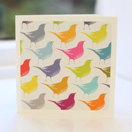 Song Thrush Multi Greeting Card