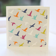 Flying Ducks Multi Greeting Card