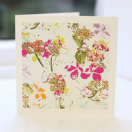 Daisy Fabric Greeting Card