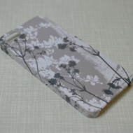 Grey Flowers iPhone 5 /5S/5SE Cover - DISCONTINUED