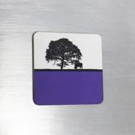 Fridge Magnet - Blue