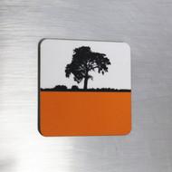 Fridge Magnet - Orange