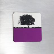 Fridge Magnet - Purple
