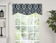 ANDROS SHAPED VALANCE