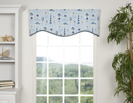 BELIZE SHAPED VALANCE