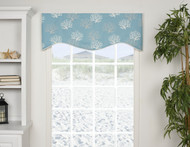 CAPTIA SHAPED VALANCE