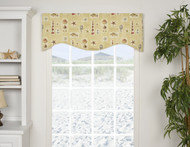 TORTUGA SHAPED VALANCE