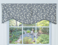 KENSINGRON SHAPED VALANCE