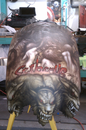 Custom Pattern Cut - Strutless Rear Fender
