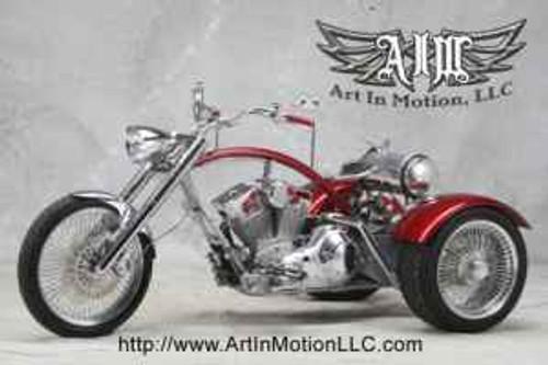 SOLD - 2008 Art In Motion Custom Trike - Flyin' Trike