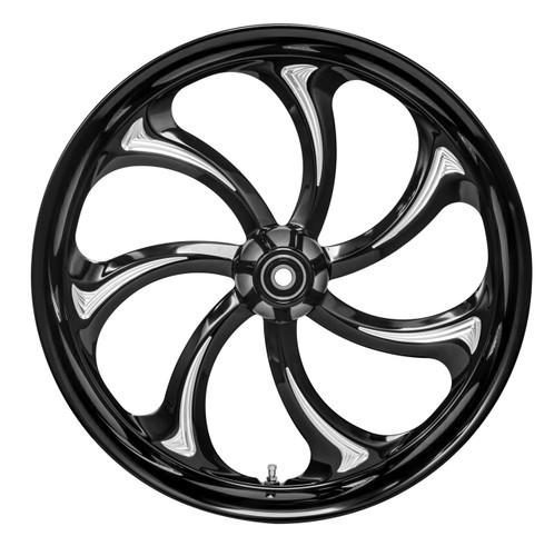 S-7 Twisted 7-spoke motorcycle wheel by Colorado Custom