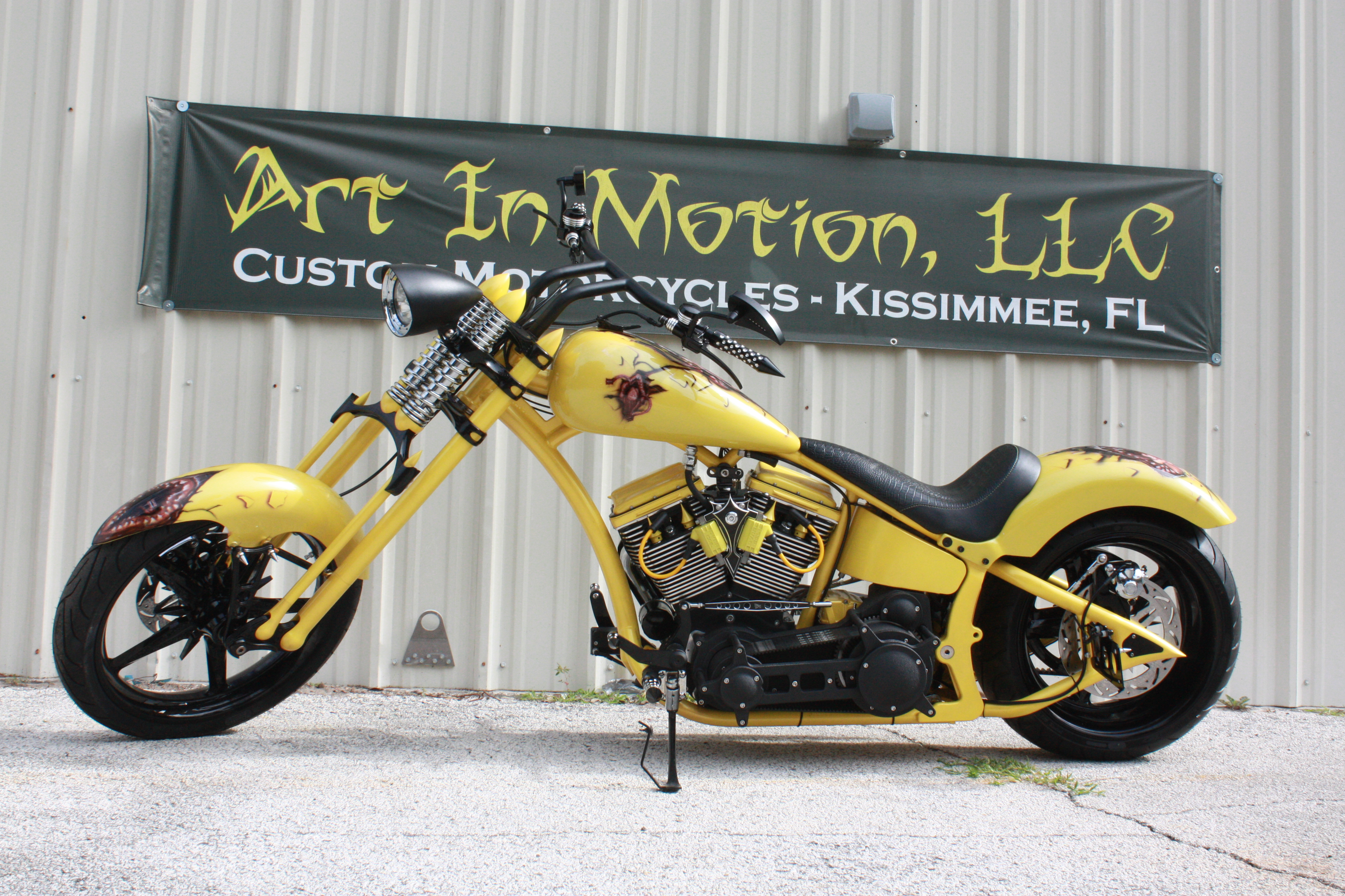 Custom ProStreet Chopper - Title Your Custom Motorcycle