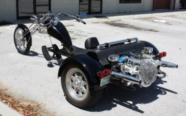 Handicap Fitment on a Trike for Disabled Rider