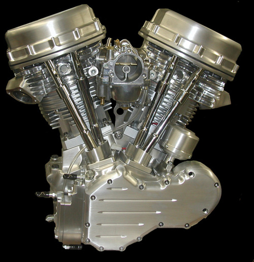 Big Inch Motorcycle Engine