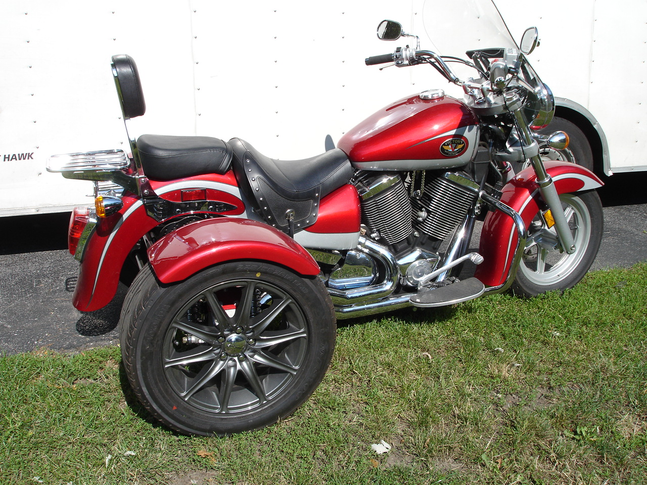 Trike Conversion Kits for Shaft Drive Motorcycles