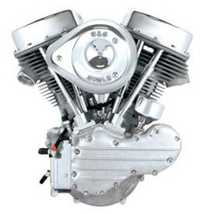 S&S P-Series (Panhead) Engines (P93) for 1970-1999 Custom Chassis - Alternator/Generator Style ($8195.00)