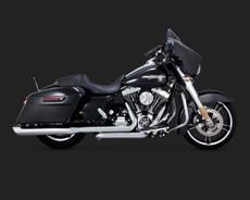Dresser Duals Chrome 2010-2014 Harley Davidson Touring