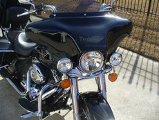 Black Gel Coat 6x9 Batwing Fairing Road King Standard
