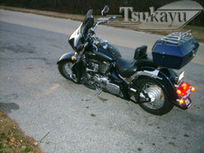Black Gel Coat 6x9 Batwing Fairing Suzuki Boulevard C50/C50T 2005-2014