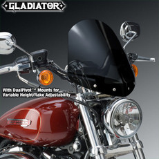 Gladiator® Height/Rake Adjustable Windshield for Harley-Davidson® N2709